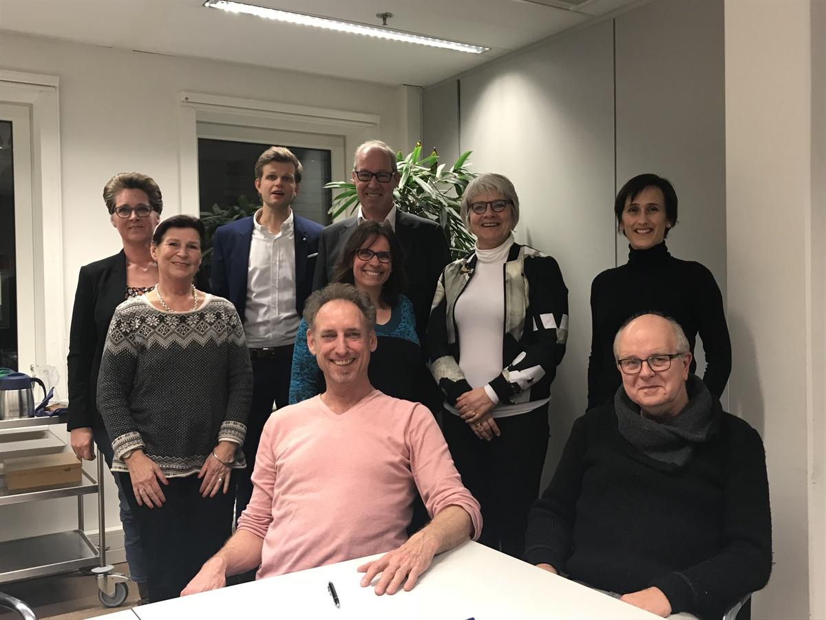 De Adviesgroep Centrum Oost, met o.a. Helga Spitz, Simone Ronchetti en Dim van Gerven
