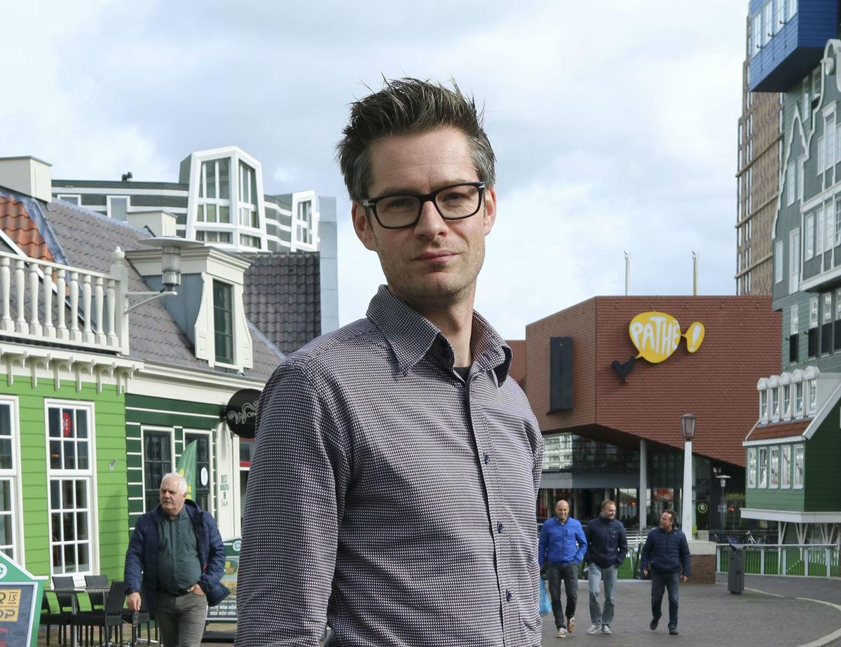 Foto Wouter Peeters, visiespecialist en lid van het team Omgevingsvisie