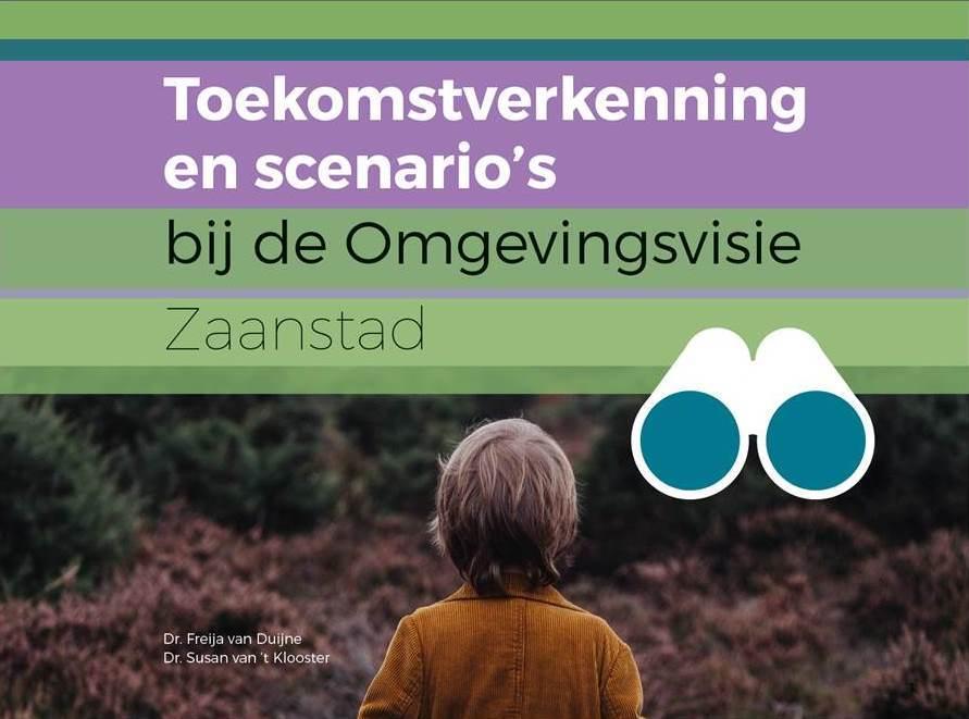Voorkant publicatie Toekomstverkenning en scenario's