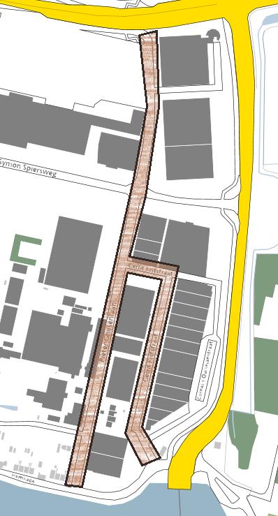 Kaartje van het projectgebied.