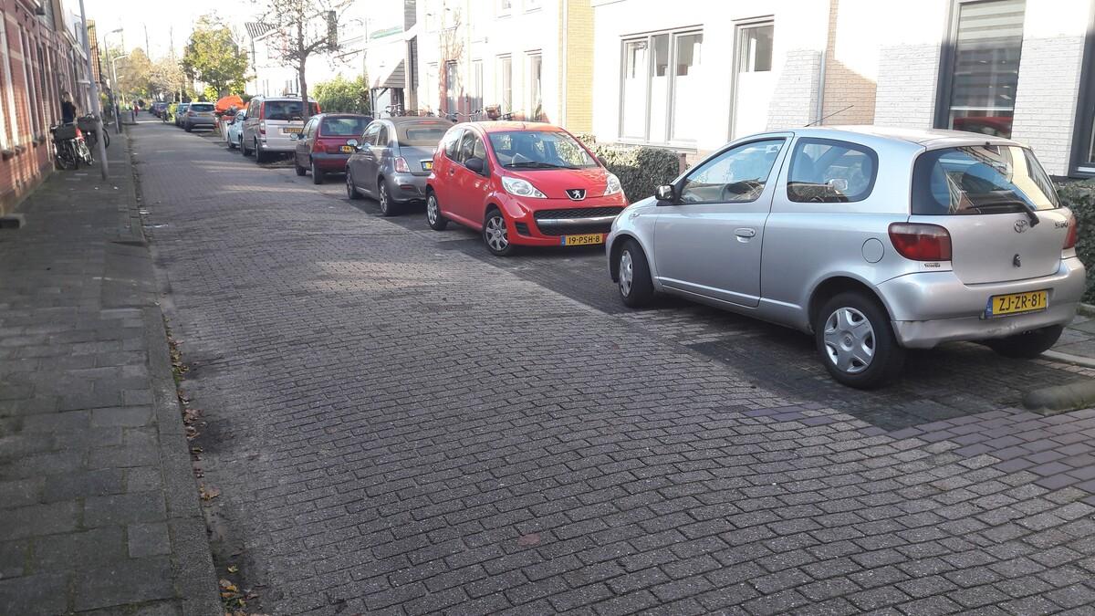 foto van een straat in de Harenmakersbuurt Zaandam